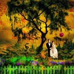 Bride and Groom in the Garden of Eden thumbnail