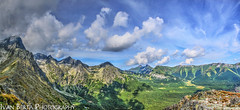 High Tatras (Ivan Berta) Tags: slovakia europe tatras mountain mountains forest green blue sky cloud nature tree holiday summer panorama view slovensko slovak republic