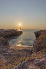 DSC04695 (Kant1200) Tags: italie été europe pouilles plage mer bateau voilier rocher baignade vacances chaud bleu paysage panorama matin