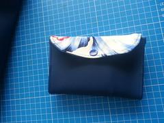 20160726_135842 (Indy Vidual) Tags: handtasche geldbörse portemonnaie geldbeutel purse wallet bag handbag blau blue flower blume funfabric pattydoo