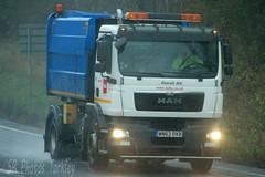 MAN Roadsweeper Biffa WN63 OVB (SR Photos Torksey) Tags: transport truck haulage hgv lorry lgv logistics road commercial vehicle freight traffic man roadsweeper biffa