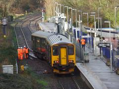 150234 Derailment, Penryn [Explored] (Marky7890) Tags: gwr 150234 class150 sprinter 2t76 penryn railway cornwall maritimeline train