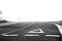 Give Way (jaume zamorano) Tags: blackandwhite blancoynegro blackwhite blackandwhitephotography blackandwhitephoto bw boira brouillard d5500 fog foggy ground lleida lines monochrome monocromo mist minimalism nikon noiretblanc nikonistas niebla pov road street streetphotography streetphoto streetphotoblackandwhite streetphotograph urban urbana