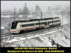 idn7538 (ribot85) Tags: 599004 599 navalperal tren trenes trains train railways renfe railroad regional regionales regionalexpres diesel caf actren
