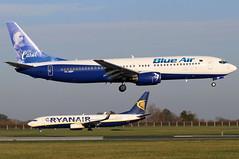 YR-BMP_03 (GH@BHD) Tags: yrbmp boeing 737 738 737800 b737 b738 ob blueair carol logojet specialcolours dub eidw dublinairport dublininternationalairport dublin