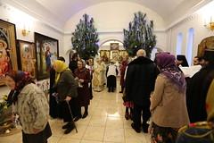 53. Рождественский молебен в Никольском 08.01.2019