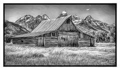 Moulton Barn Morman Row (F8shooter) Tags: bestof2012 grandteton mormonrow moultonbarn