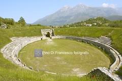 0380PCCO Alba Fucens (pino di francesco fotografo) Tags: albafucens anfiteatroromano romanamphitheater amphithéâtreromain abruzzo abruzzes italia italy italie