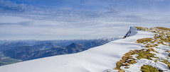 endless mountain(s) (peter-goettlich) Tags: rofan inntal zillertaleralpen tauern grat ridge snow sagzahn sonnwendjoch rofanspitze österreich achensee austria gras