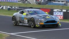 Polesitter (Update = STRIPPED) (Jungle Jack Movements (ferroequinologist) all righ) Tags: r motorsport aston martin db8 vantage pole sitter great britain gb uk united kingdom english team racing bathurst nsw new south wales mount panorama brock skyline mountain straight 12 hour endurance gt3 gt sport soulet abril motor pass race speed car cars hottie track practice position timing hard competition event saloon sports driver mechanic engine build fast grid circuit drive helmet marshal starter sponsor number class classic turbo gbr