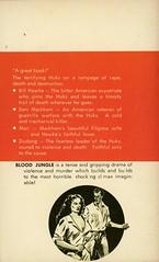 Triumph Books 315 - Cort Martin - Blood Jungle (back) (swallace99) Tags: triumphbooks vintage 60s sleaze paperback