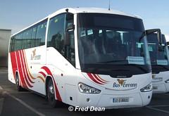 Bus Eireann SC222 (07D86632). (Fred Dean Jnr) Tags: buseireannbroadstonedepot broadstone february2008 broadstonedepotdublin bus dublin buseireann sc222 07d86632 scania irizar century