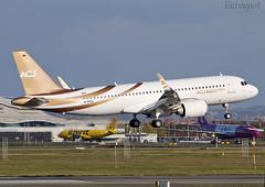 D-AVVL Airbus A320 Neo CJ Acropolis (@Eurospot) Tags: gkelt davvl airbus a320 neo corporate lfbo toulouse blagnac 8403 a320neo a320neocj acropolis