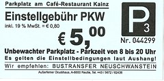 "Parkticket Deutschland • <a style=""font-size:0.8em;"" href=""http://www.flickr.com/photos/79906204@N00/44314070410/"" target=""_blank"">View on Flickr</a>"