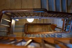 Below (Howie Mudge LRPS BPE1*) Tags: stairs banister steps powiscastle nationaltrust welshpool powys wales cymru uk sony sonya7ii sonyalpha sonyilce7m2 fe50mmf18
