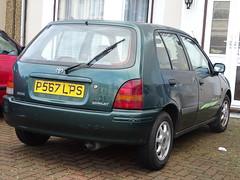 1997 Toyota Starlet 1.3 Sportif (Neil's classics) Tags: vehicle car 1997 toyota starlet 13 sportif