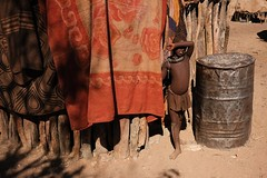 Oruhuna village, Namibia (.sl.) Tags: himba namibie people portrait villagedoruhuna streetphotography street streetportrait native tribe tribal indigenouspeople namibia