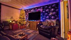 Our Christmas Eve (AreKev) Tags: ourchristmasroom christmasroom christmas tree xmas 2018 christmastree night lights festive christmastime frontroom livingroom living room ourhouse bristol england uk aurorahdr2018 hdr aurorahdr nikond7100 nikon d7100 sigma 1020mm 1020mmf456exdchsm