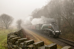 Misty Morning (Matt.Evans44871) Tags: 60009 uosa union south africa a4 lner br elr east lancashire railway bury irwell vale ramsbottom rawtenstall steam train locomotive