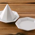 盛り塩皿の写真