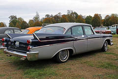 1958 Dodge Coronet (crusaderstgeorge) Tags: crusaderstgeorge cars classiccars americancars americanclassiccars americancarsinsweden 1958dodgecoronet 1958 dodge coronet veterancar carmeet cool chrome landcruiser högbo sweden sverige