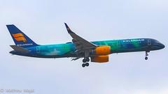 Boeing 757-200 / Icelandair (Aurora Northern Lights) (matdu20eme) Tags: aurora boeing757 757 boeing icelandair airliners airliner aircraft airlines airline france paris cdg aviation airplane plane avion
