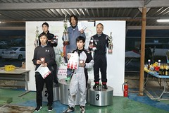 20181104_NTCCC_Podium_033 (htskg) Tags: 2018 20181104 challengecup round6 challengecupround6 karting race podium 新東京サーキット チャレンジカップ 表彰式