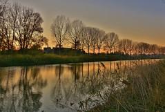 Vesperal 'the river' (jean-paul Falempin) Tags: rivière sunset arbres