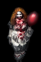 pennywise (timp37) Tags: it pennywise wizard world con august 2018 chicago illinois clown comic cosplayer cosplay