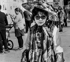 Korean Festival - Carrollton, TX (Randy Stewart (Dallas, TX)) Tags: photobyrandystewartnophotosallowedcom carrollton texas unitedstates us koreanfestival korean koreanfashion kimchi bulgogi asianlady 35mm blackandwhite streetphotography