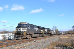 NS 7709 GE ES44DC (Trucks, Buses, & Trains by granitefan713) Tags: train freighttrain railorad railfan ns norfolksouthern ge generalelectric readingline nsreadingline real macungie gevo evolutionseries gees44dc es44dc