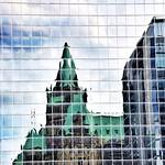 Ottawa  - Ontario -  Canada ~ Confederation Building Reflection thumbnail