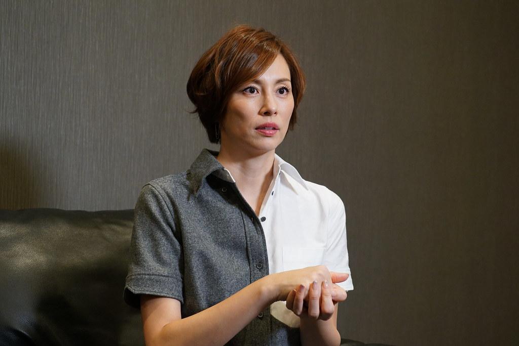 米倉涼子接受KKTV獨家專訪,提及私下來台遊玩,最愛小籠包