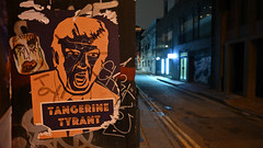 Tangerine Tyrant (Jarjan) Tags: political trump tyrant shoreditch london