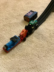 The end of the tracks (Mr Clive) Tags: trains crash thomasthetankengineandfriends thomasandfriends