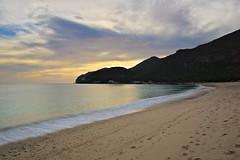 Portinho da Arrábida (jpingo) Tags: sea ocean beach sigma sky landscape rocks arrabida portugal setubal