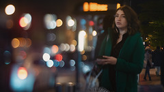 Lost in Translation (Jovan Jimenez) Tags: sony alpha a6500 nikon seriese 50mm f18 eseries tiltshift bokeh girl peopple streetphotography night selectivefocus ilce pancake lens manual manuallens vintagelens oldlens retrolens adapted adaptedlens adaptedlenses ais classiclens classiclenses