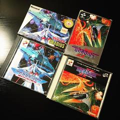Gradius/Gradius 2 for Famicom and PC Engine.  #gradius #gradius2 #konami #nintendo #famicom #pcengine #retrogaming  #videogames #PCエンジン #ファミコン #グラディウス (djdac) Tags: gradius gradius2 konami nintendo famicom pcengine retrogaming videogames pcエンジン ファミコン グラディウス