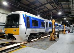 165006 (R~P~M) Tags: train railway diesel dmu multipleunit depot aylesbury bucks buckinghamshire chilternrailways arriva england uk unitedkingdom greatbritain 165