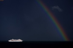 Under the Rainbow (Better Living Through Chemistry37 (Archive3)) Tags: amadea cruiseships torbay sea ships