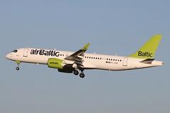 YL-CSM - LGW (B747GAL) Tags: air baltic airbus a220300 lgw gatwick egkk ylcsm