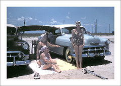 Vehicle Collection (9404) - Chevrolet (Steve Given) Tags: socialhistory familycar motorvehicle automobile kodachrome chevrolet beach 1950s