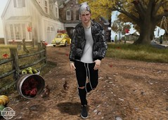 LOTD 362 (Brendo Schneuta) Tags: doux beanie hat hair clefdepeau hevo jacket exalted pants sneakers versov mancave kustom9 menonly event events equal10 poses pose wrong decoration boy men male moda estilo fashion style game avatar virtual catwa bento keepcalm blogger bloggersl blog secondlife secondlifeblog second sl