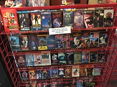 "Horror Movie Rack at Slashback Video • <a style=""font-size:0.8em;"" href=""http://www.flickr.com/photos/28558260@N04/45567454804/"" target=""_blank"">View on Flickr</a>"