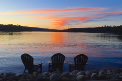 Lake View (Kimages2c) Tags: lake henry adirondack chair tree chill view scenic poconos