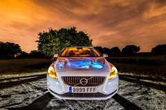 Volvo V40 (Yorch Seif) Tags: noche night nocturna nocturnal lightpainting longexposure largaexposicion estrellas stars d7500 tokina1116 volvo coche car