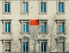 Rosso (marco santagostino) Tags: red rosso azzurro lightblue white bianco abstract sonya7ii samyang35mmaffe