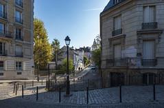Streets of Montmartre / Улицы Монмартра (dmilokt) Tags: город city town пейзаж landscape сад парк garden park dmilokt