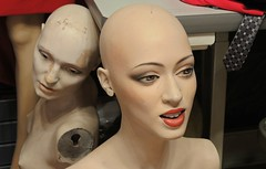 At the dressmaker's studio in the Bronx, New York (dw*c) Tags: mannequins mannequin models model dummies dummy nikon newyork nyc newyorkcity travel trip picmonkey america usa