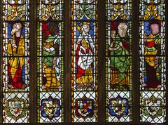 Photo of Tewkesbury Abbey, window s2